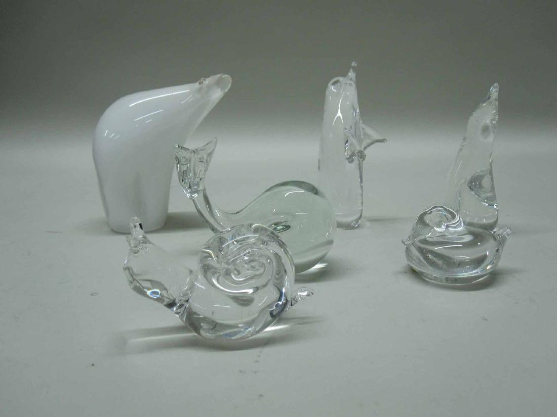 SELKIRK GLASS POLAR BEAR - 3