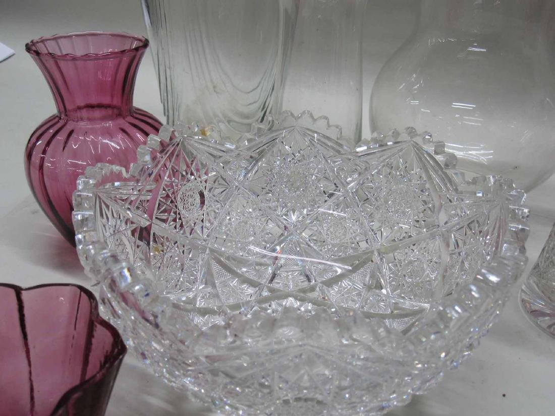 GROUP OF ASSORTED GLASS TABLE ARTICLES - 2