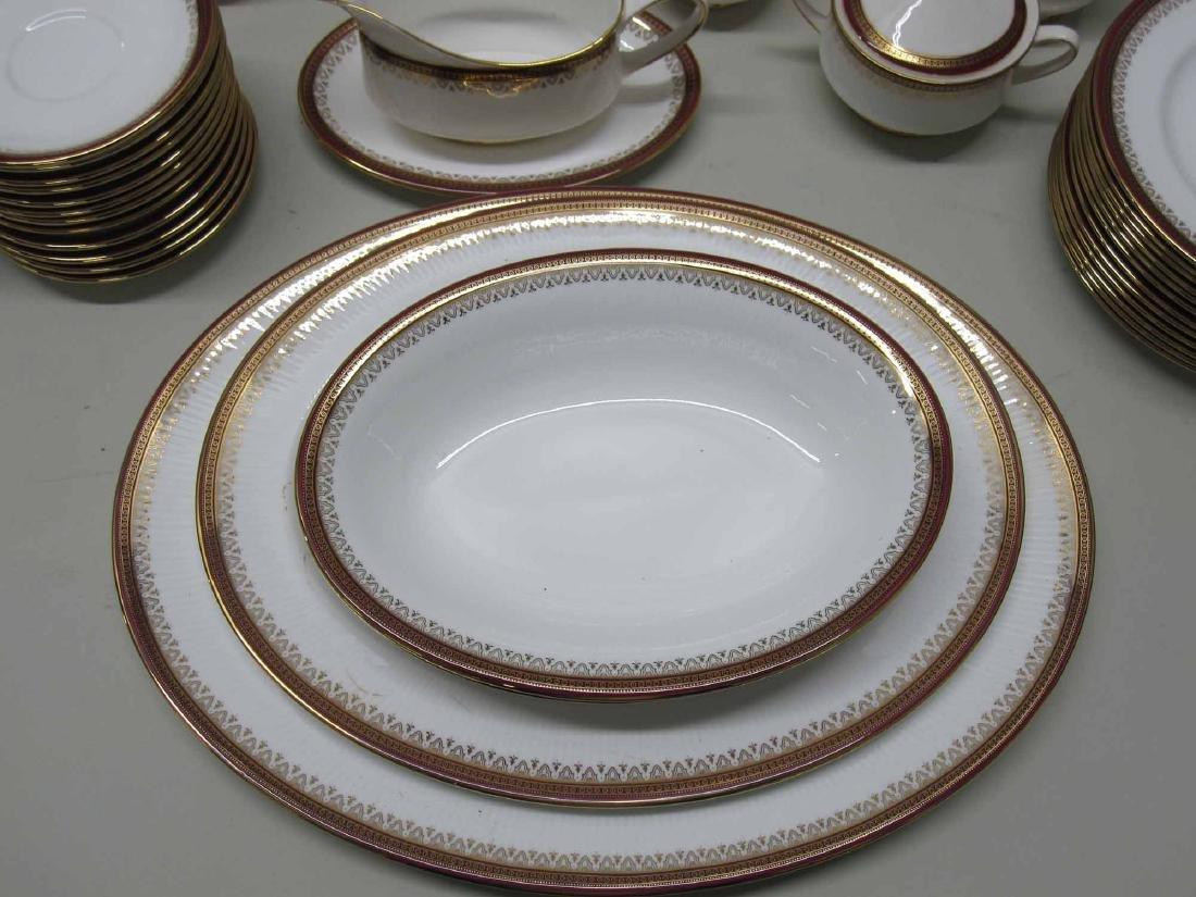 92 PIECES OF ALBERT KENSINGTON DINNERWARE - 4