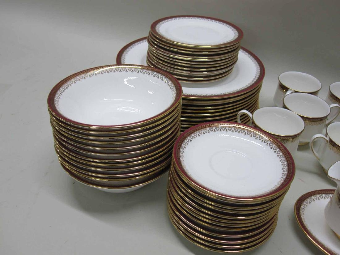 92 PIECES OF ALBERT KENSINGTON DINNERWARE - 5