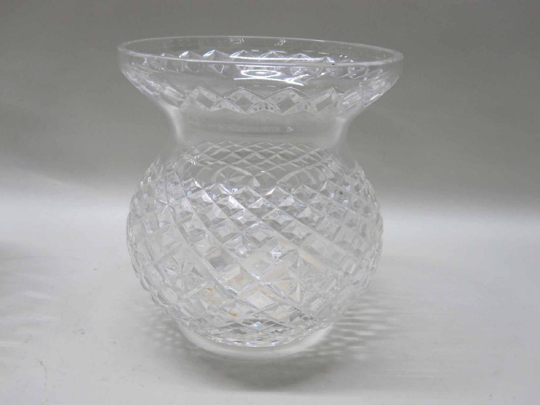 LARGE GLASS CENTERBOWL - 3