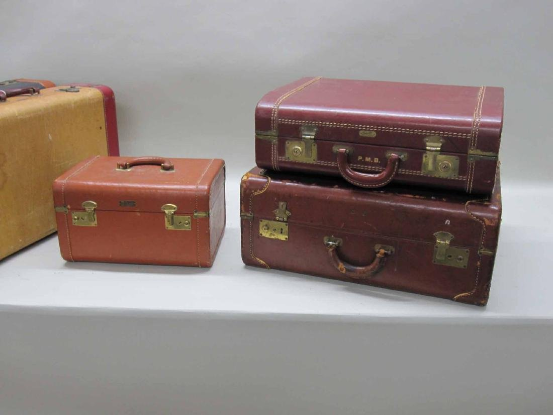 GROUP OF ASSORTED VINTAGE LUGGAGE - 2