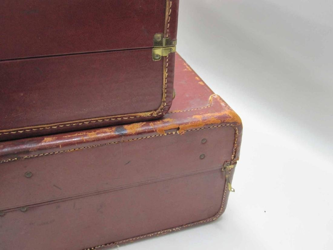 GROUP OF ASSORTED VINTAGE LUGGAGE - 3