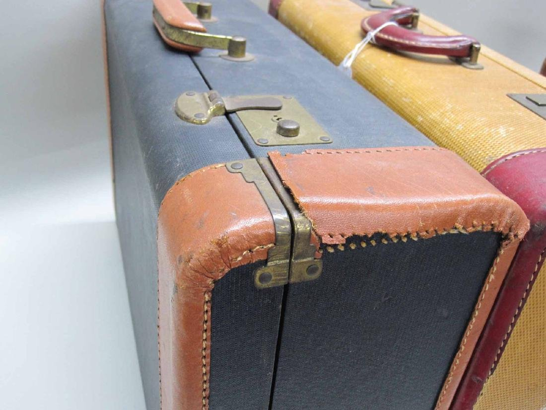 GROUP OF ASSORTED VINTAGE LUGGAGE - 5