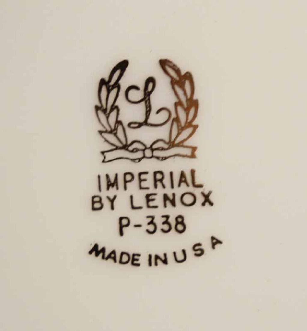 LENOX PORCELAIN IMPERIAL DINNER SERVICE - 4