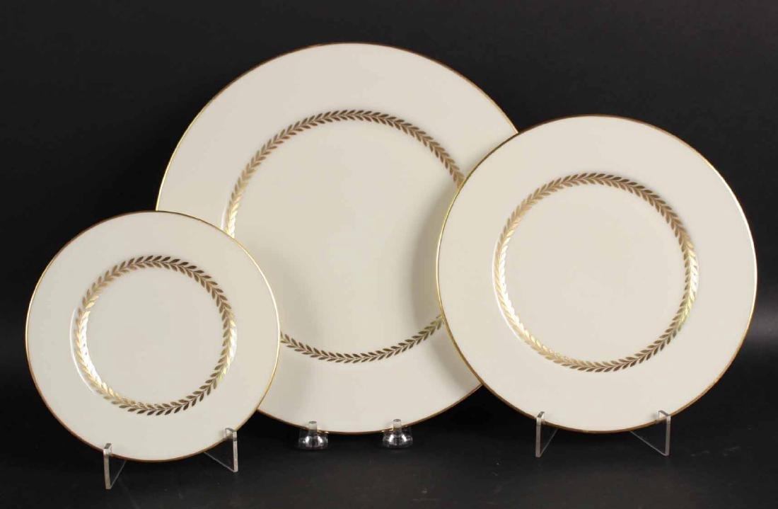 LENOX PORCELAIN IMPERIAL DINNER SERVICE - 6