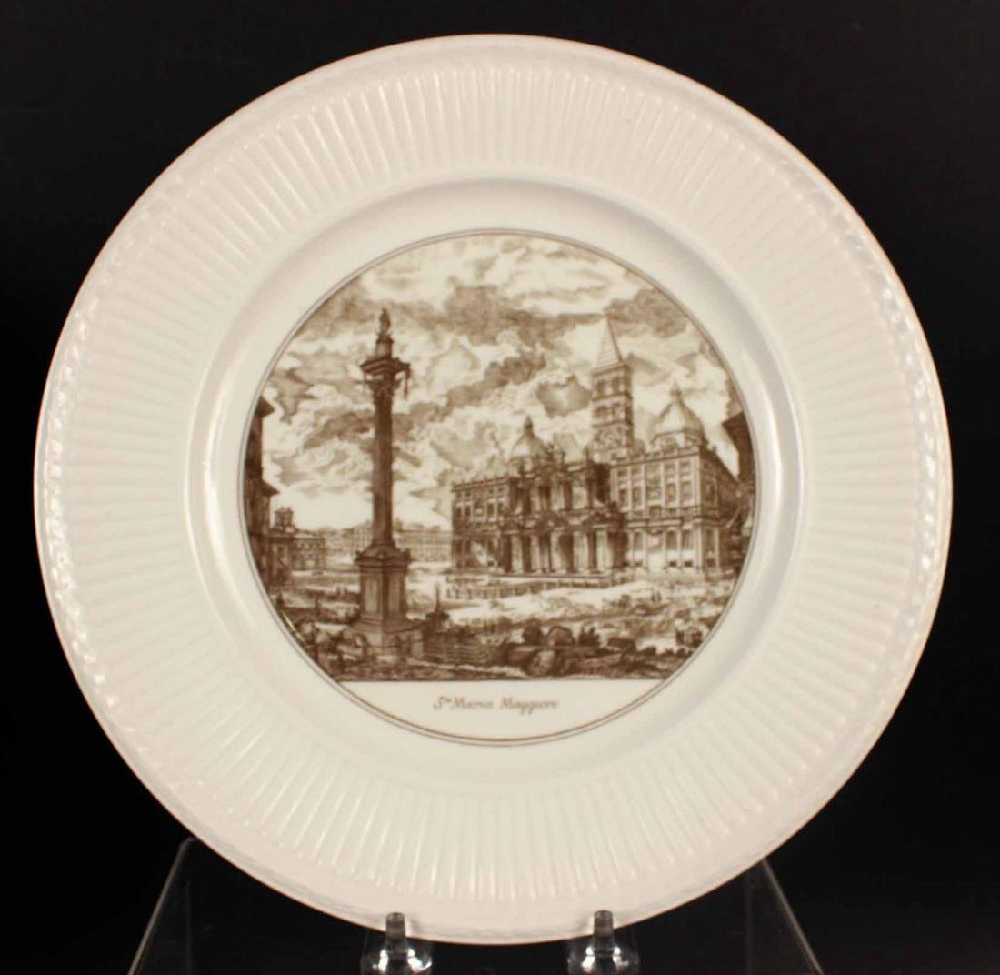 FIVE WEDGWOOD TRANSFERWARE PLATES - 5