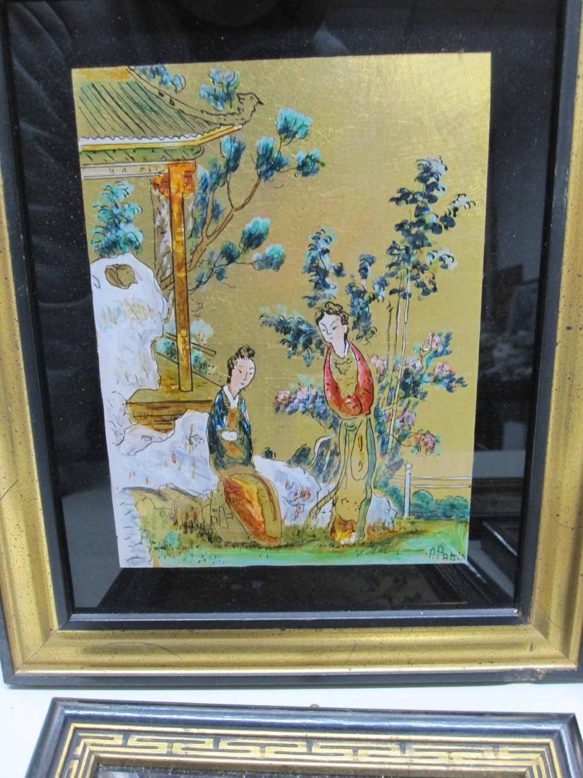 SIX ASSORTED ORIENTAL ARTWORKS