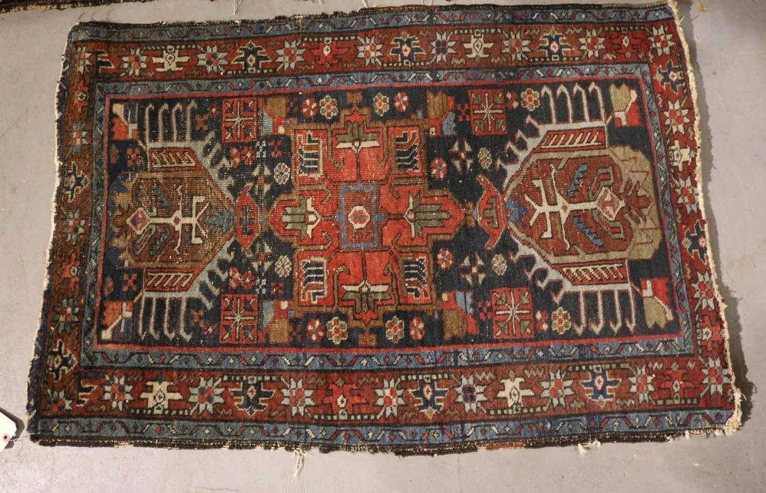THREE CAUCASIAN RUGS - 7