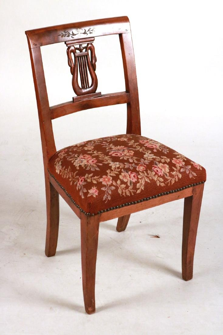 QUEEN ANNE STYLE SIDE CHAIR - 2