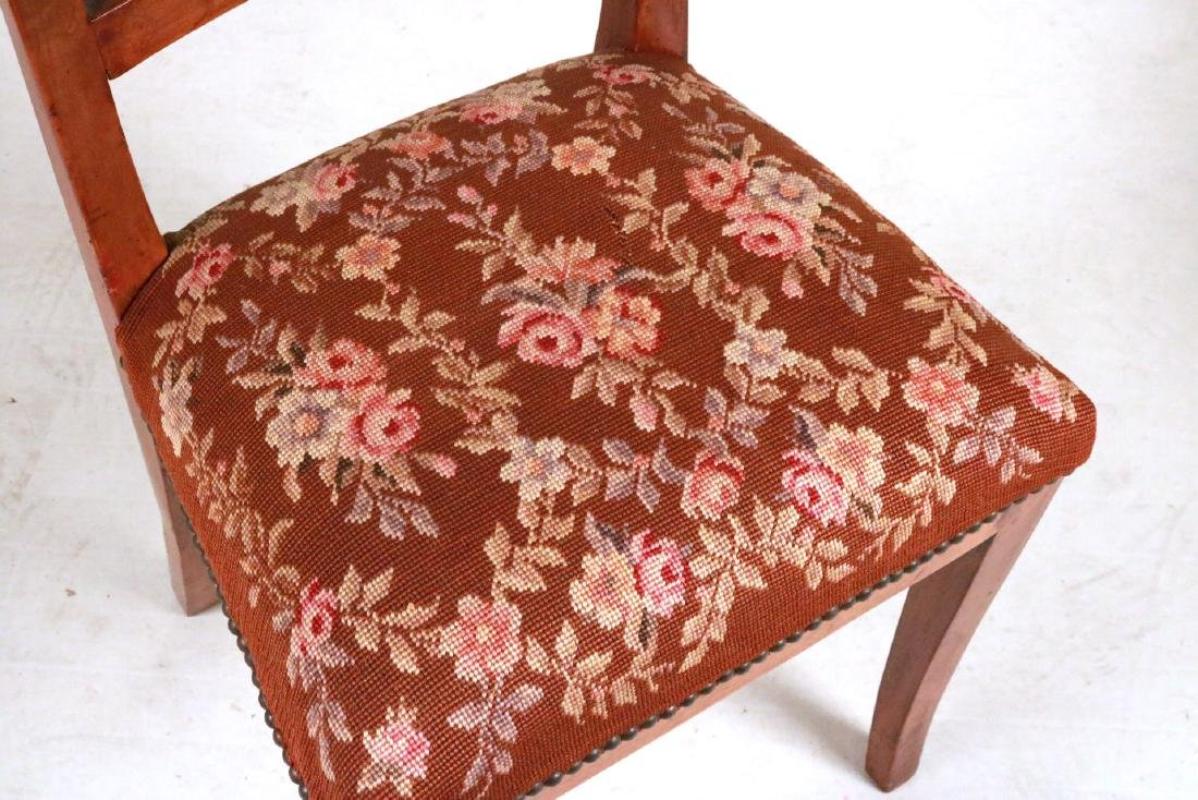 QUEEN ANNE STYLE SIDE CHAIR - 4