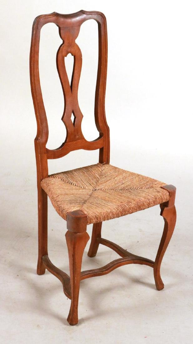 QUEEN ANNE STYLE SIDE CHAIR - 6