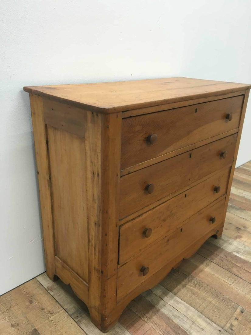 PINE CHEST OF DRAWERS - 2