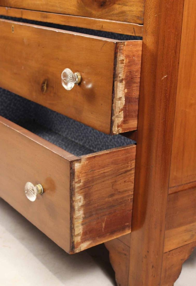 WALNUT CHEST OF DRAWERS - 3