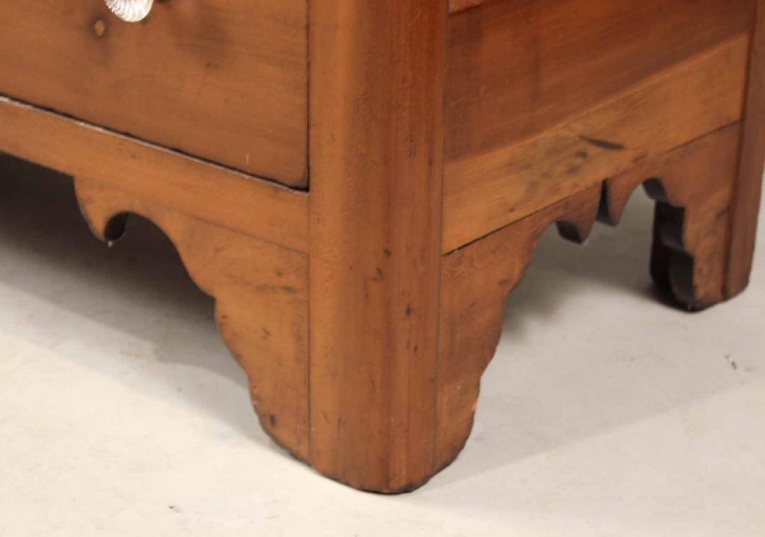 WALNUT CHEST OF DRAWERS - 5