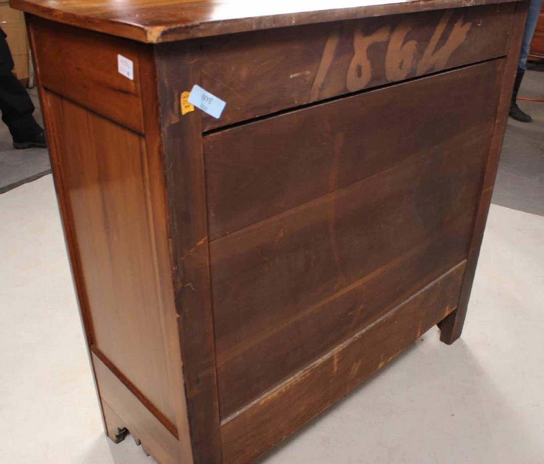 WALNUT CHEST OF DRAWERS - 7