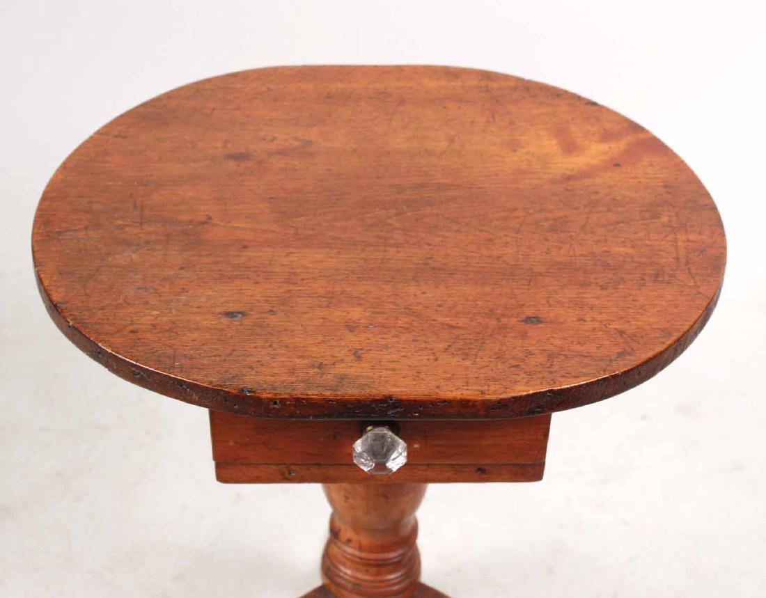 FEDERAL MAHOGANY DROP LEAF WORK TABLE - 7