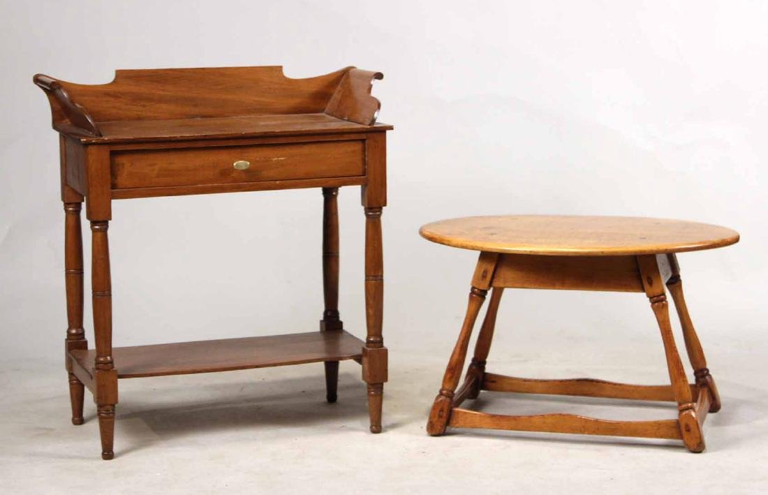 FEDERAL STYLE MAPLE WASHSTAND