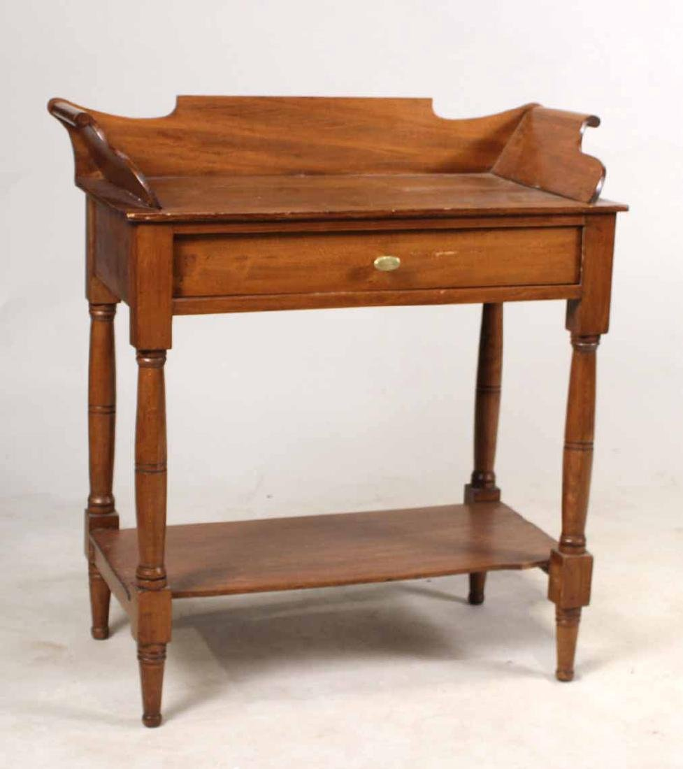 FEDERAL STYLE MAPLE WASHSTAND - 5