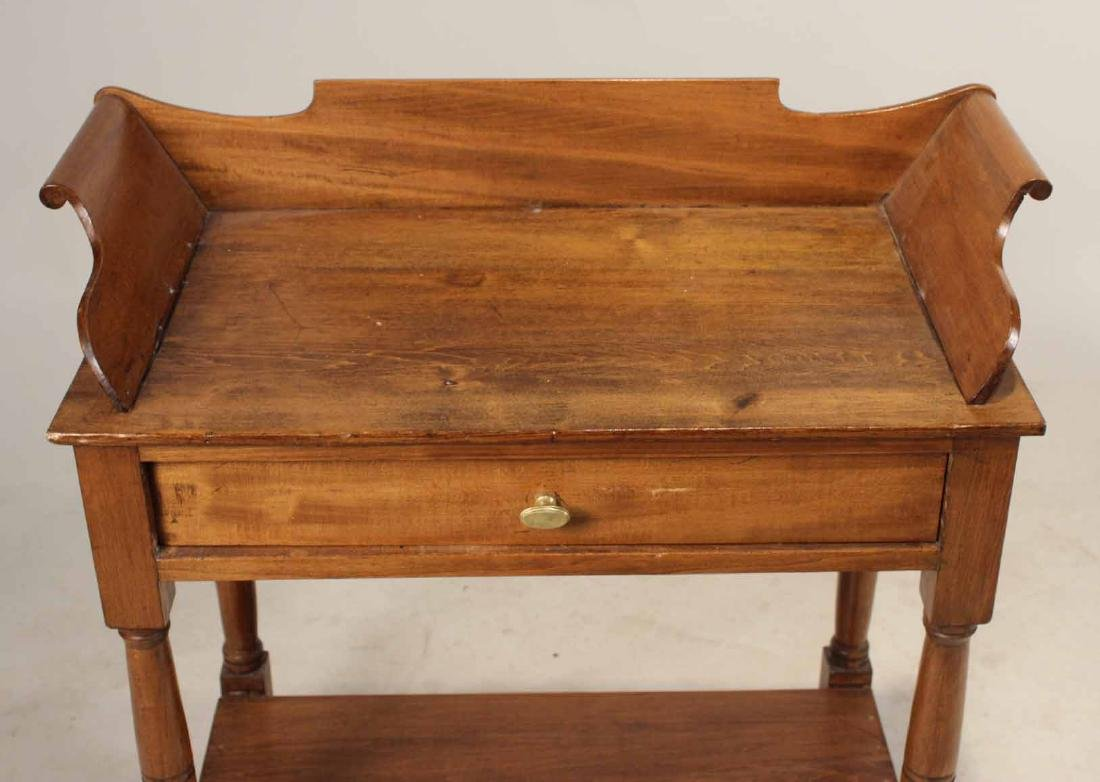 FEDERAL STYLE MAPLE WASHSTAND - 6