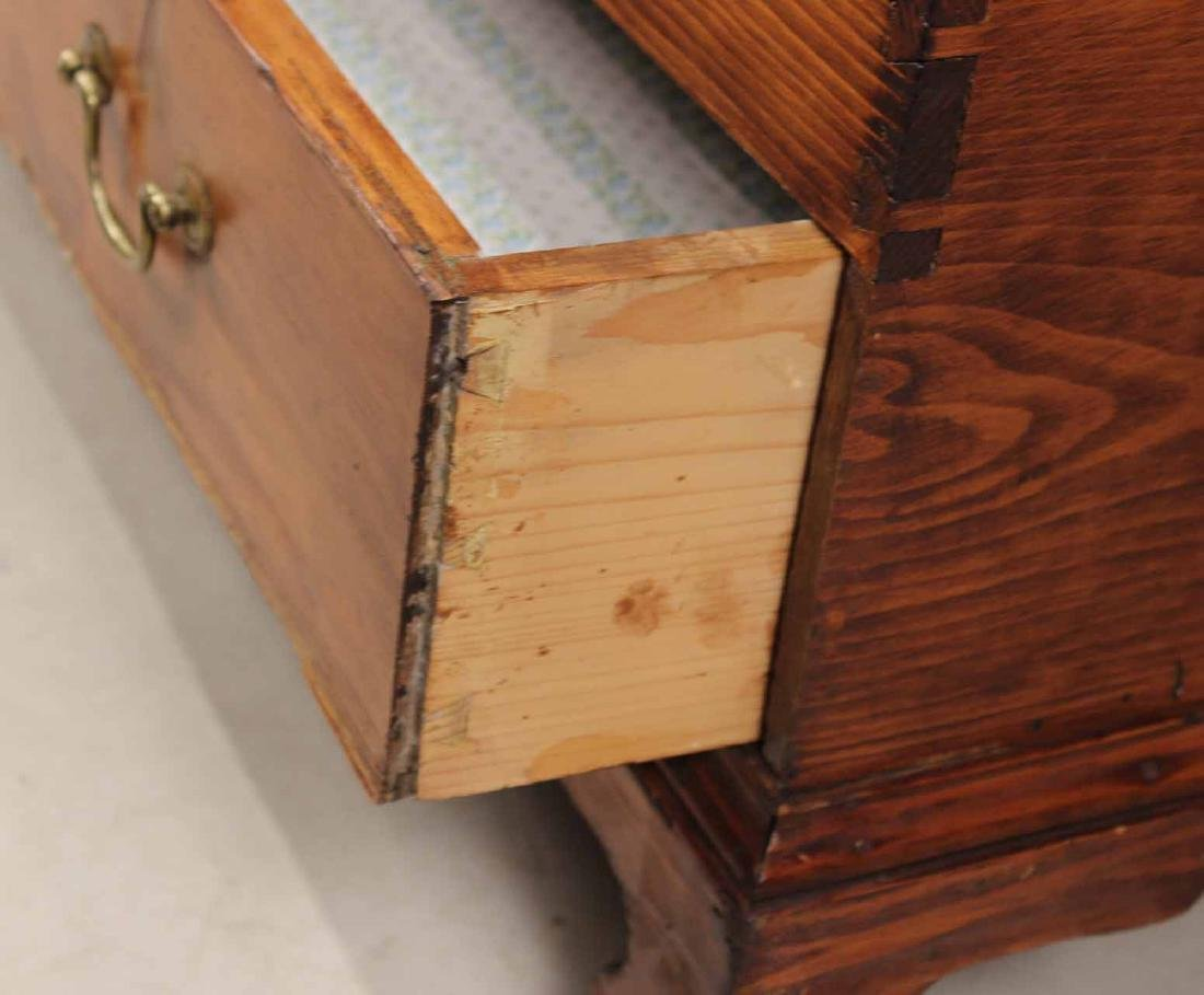FEDERAL STAINED PINE BLANKET CHEST - 5