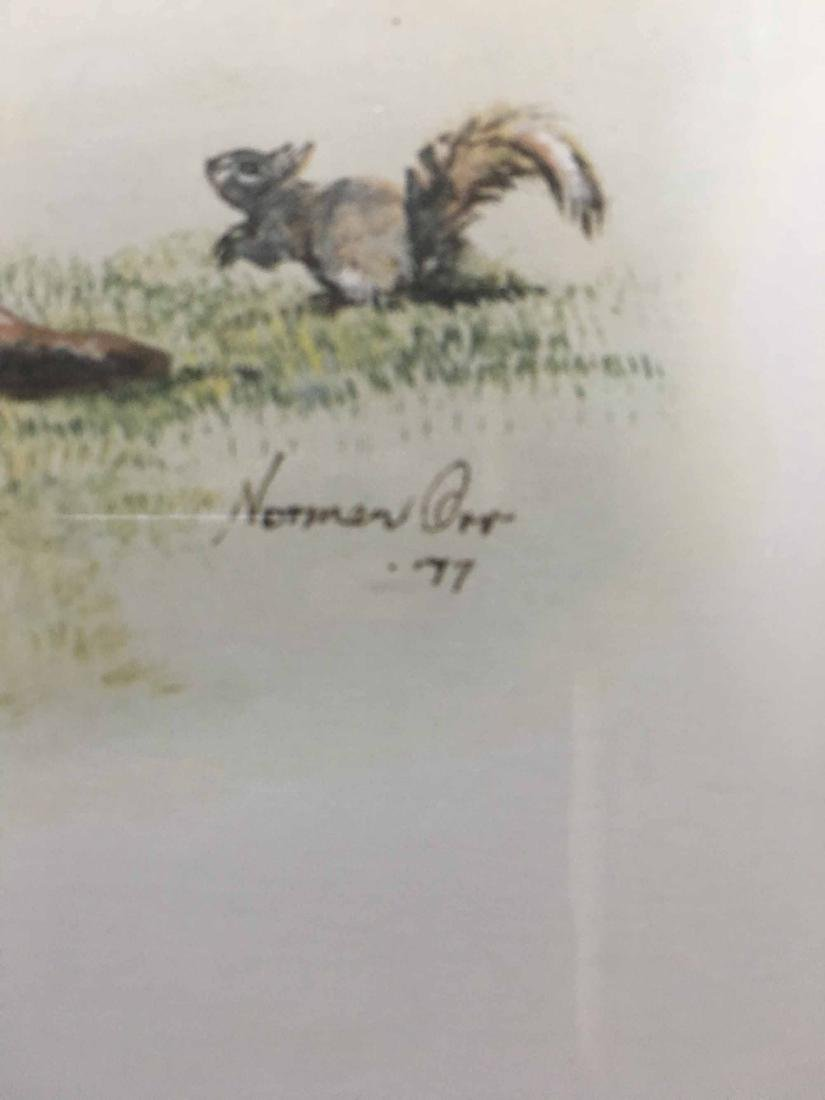 TWO NORMAN ORR'S CLASSICAL GOLF PRINTS - 4