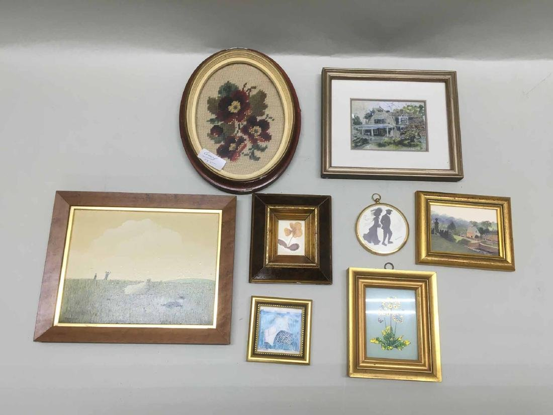 GROUP OF ASSORTED MINIATURE ARTWORK