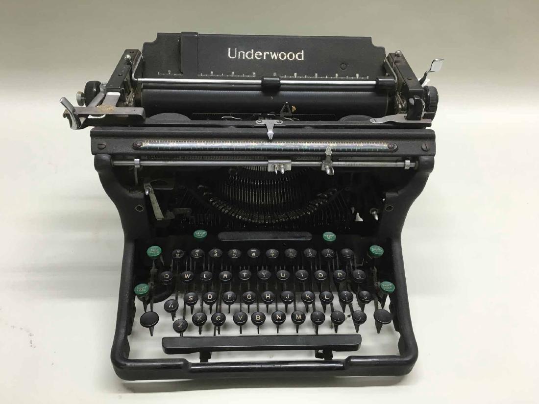 UNDERWOOD TYPEWRITER - 2