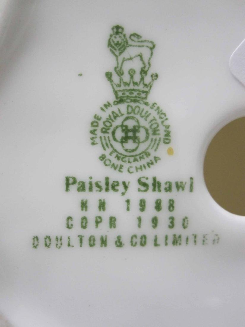 "ROYAL DOULTON PORCELAIN FIGURE ""PAISLEY SHAWL"" - 4"