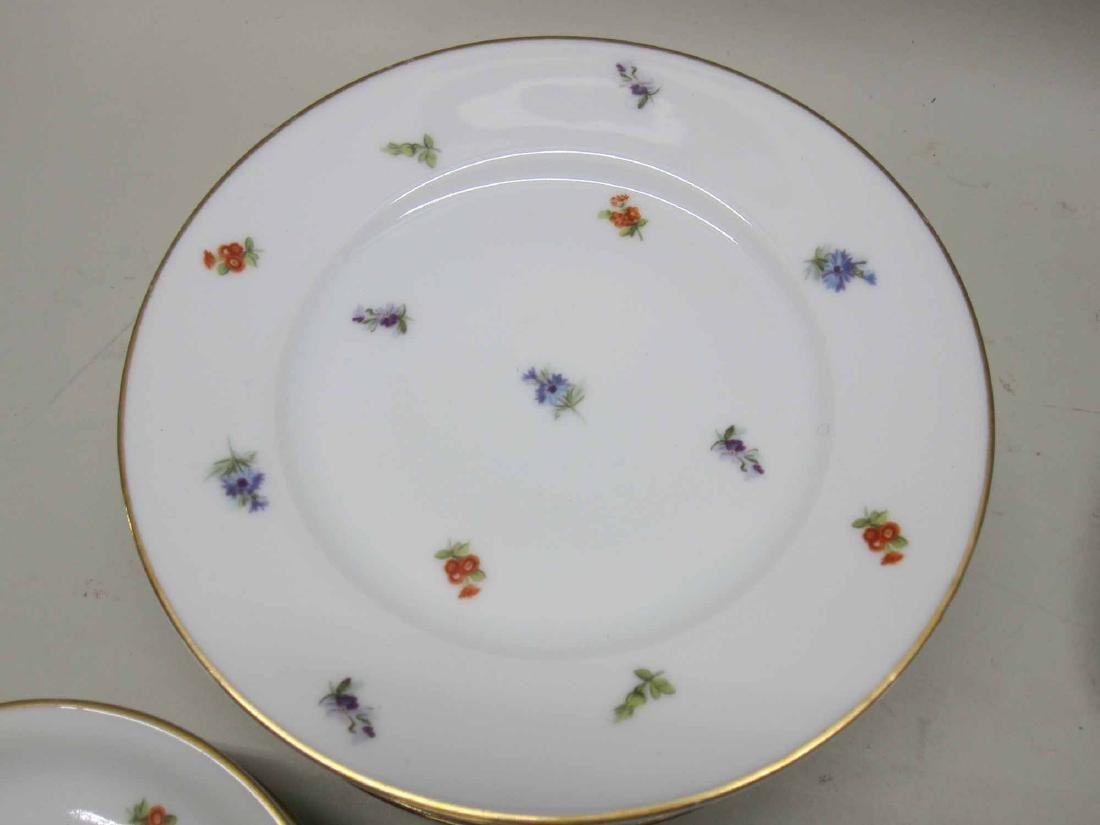 TWO PARTIAL SETS OF BAVARIAN DINNERWARE