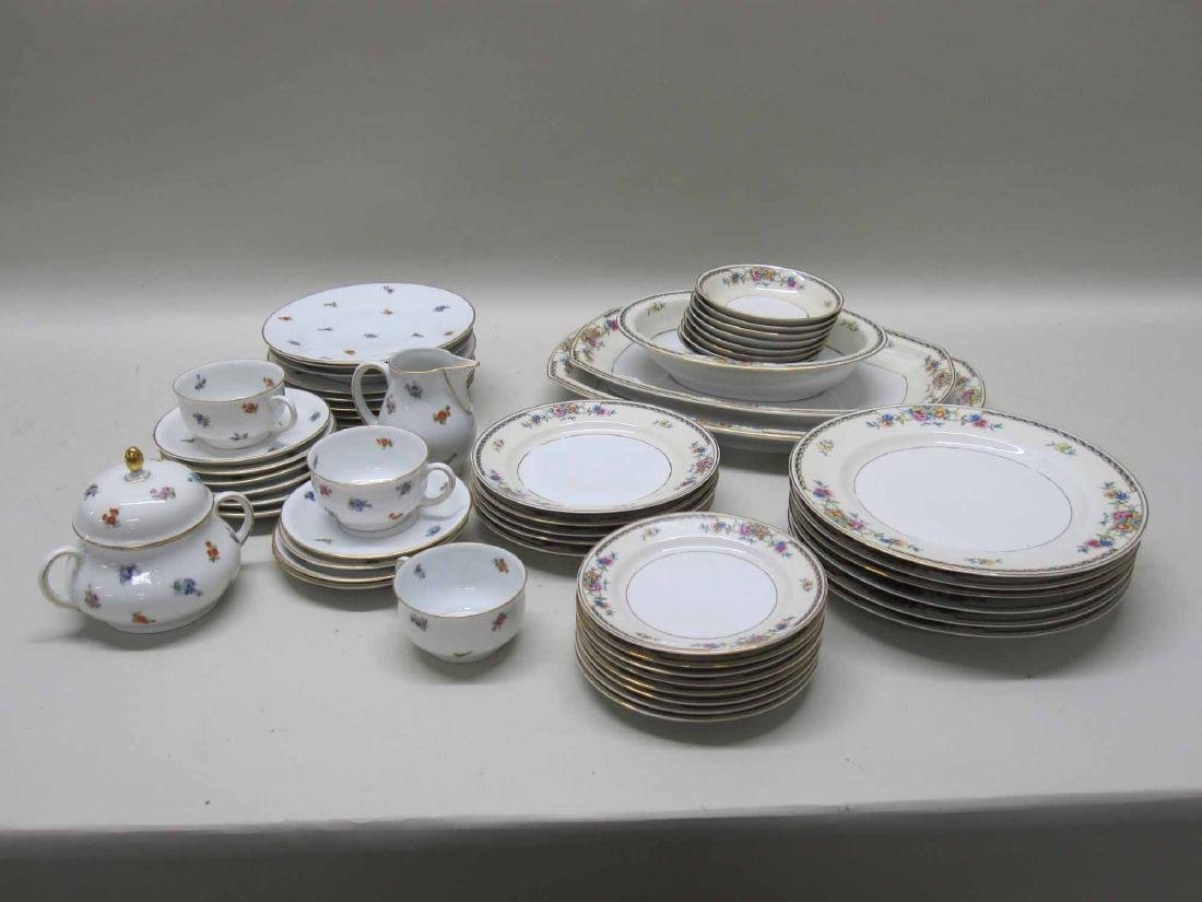 TWO PARTIAL SETS OF BAVARIAN DINNERWARE - 3