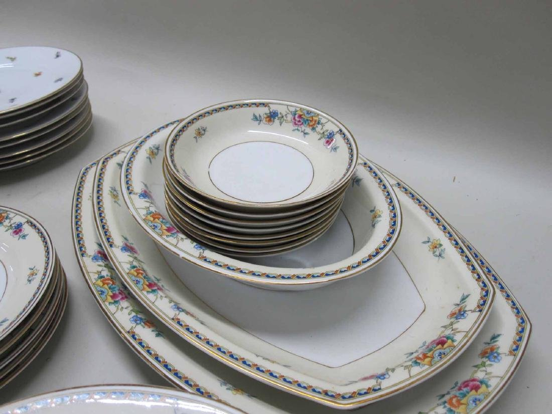 TWO PARTIAL SETS OF BAVARIAN DINNERWARE - 5