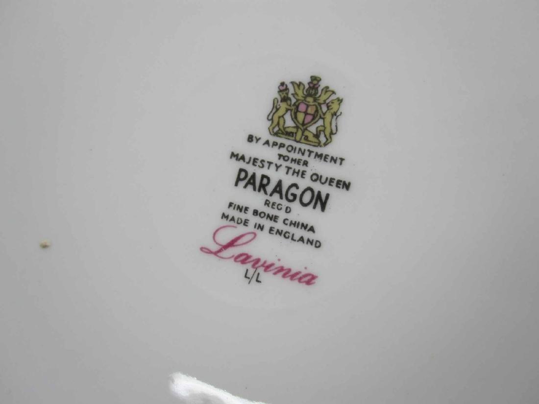 "PARTIAL SET OF PARAGON ""LAVINIA"" DINNERWARE - 3"