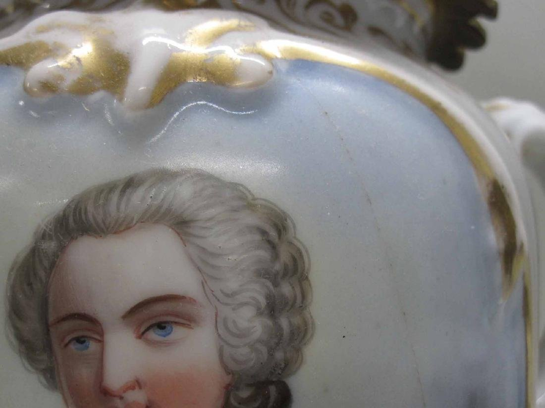FRENCH GILT METAL TABLE LAMP - 4