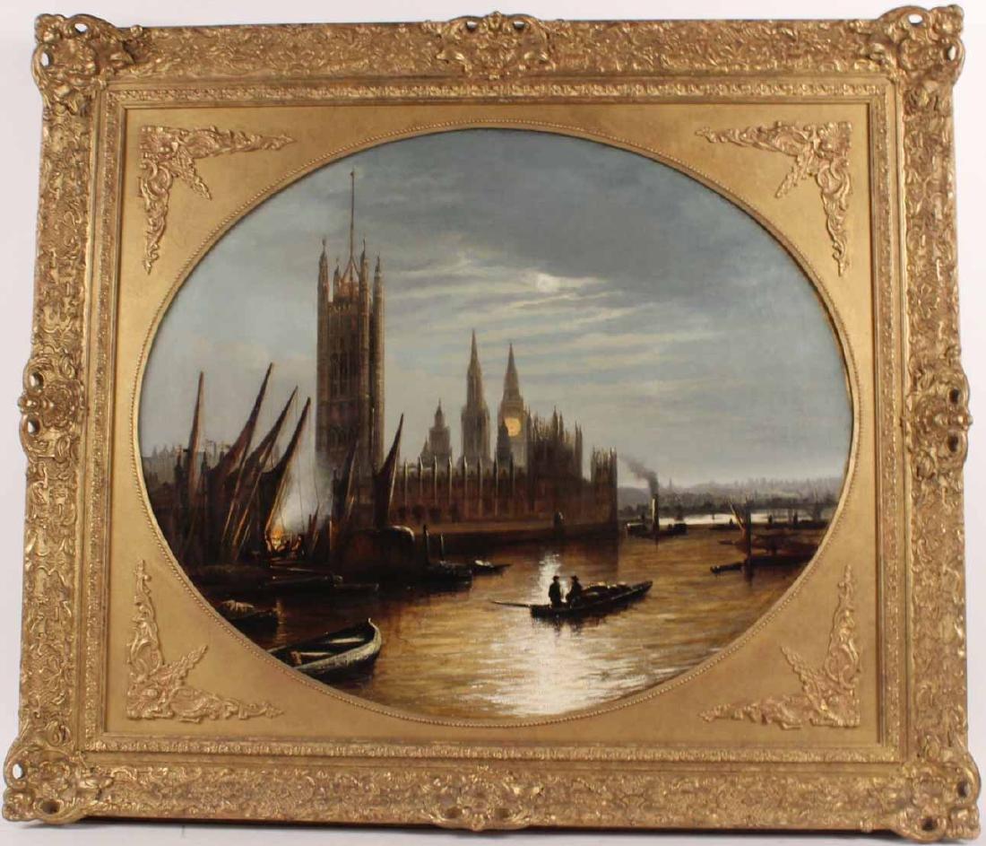 Oil on Canvas, Parliament, Francis Moltino