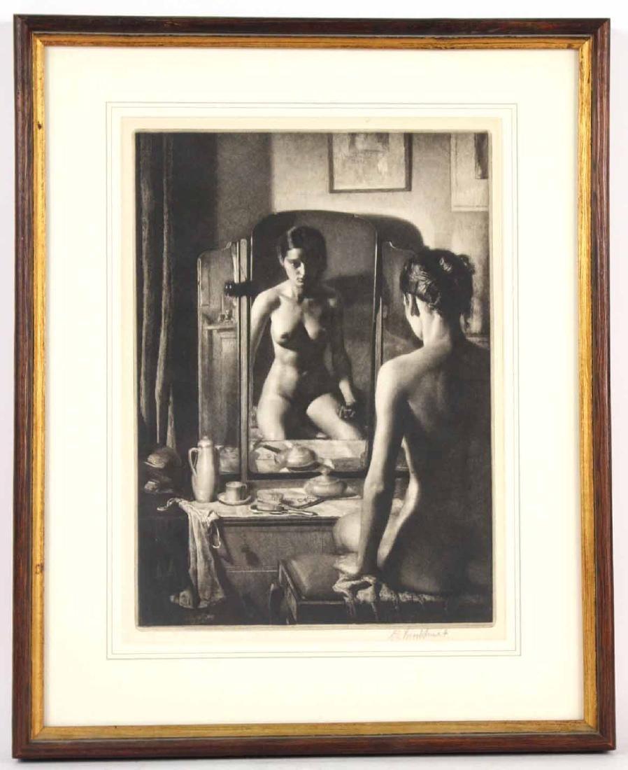 Etching, Adolescence, Gerald Leslie Brockhurst