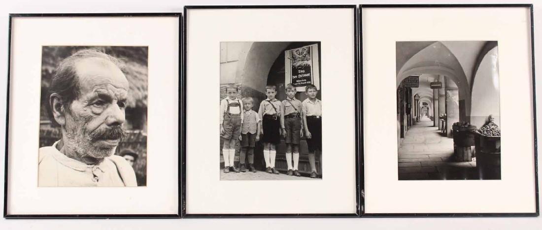 Three Vintage Photographs, Margaret Bourke-White