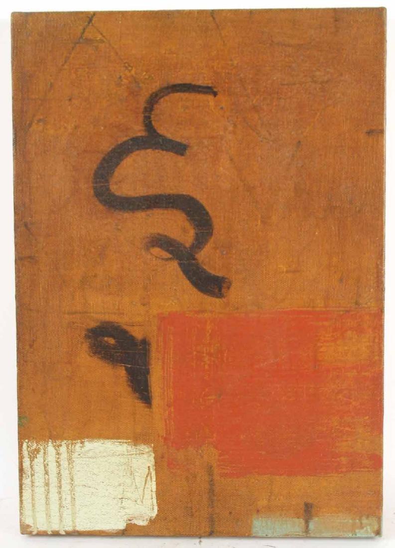 Oil on Linen, Abstract, Robert Kelly