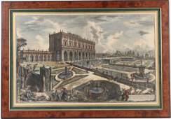 Architectural Color Etching, Giovanni Piranesi