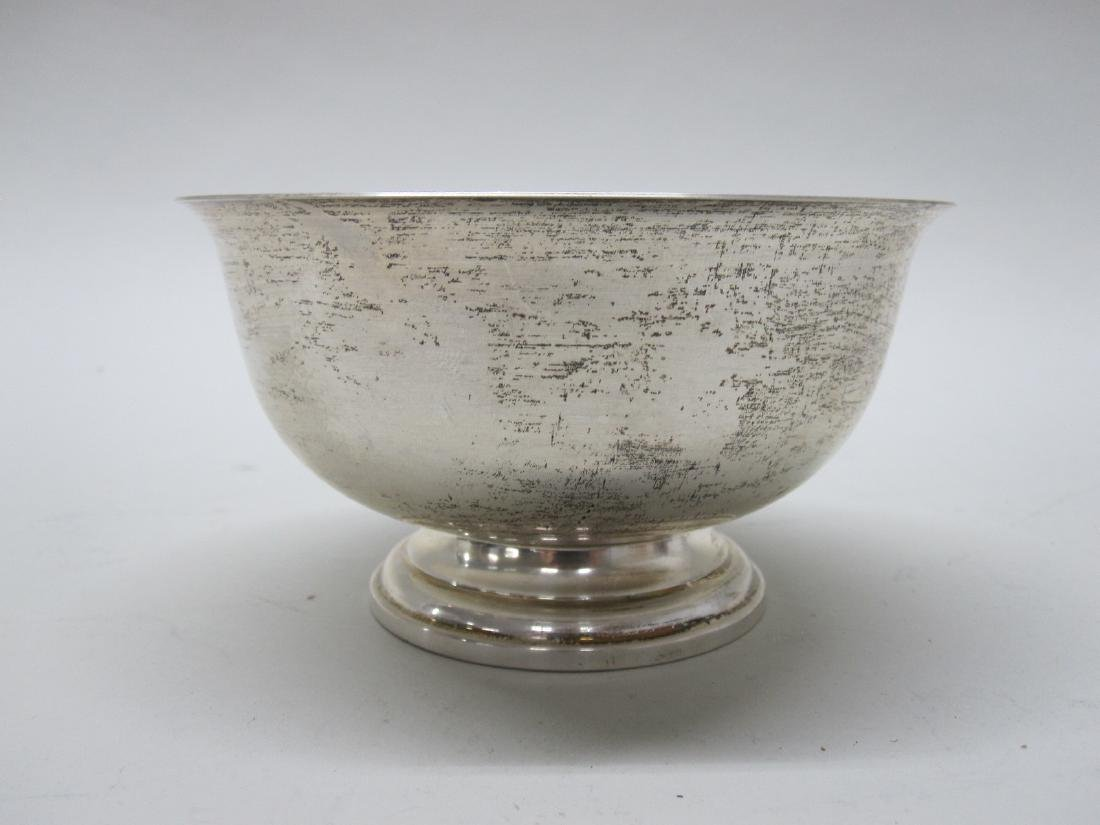 STERLING SILVER WASTE BOWL