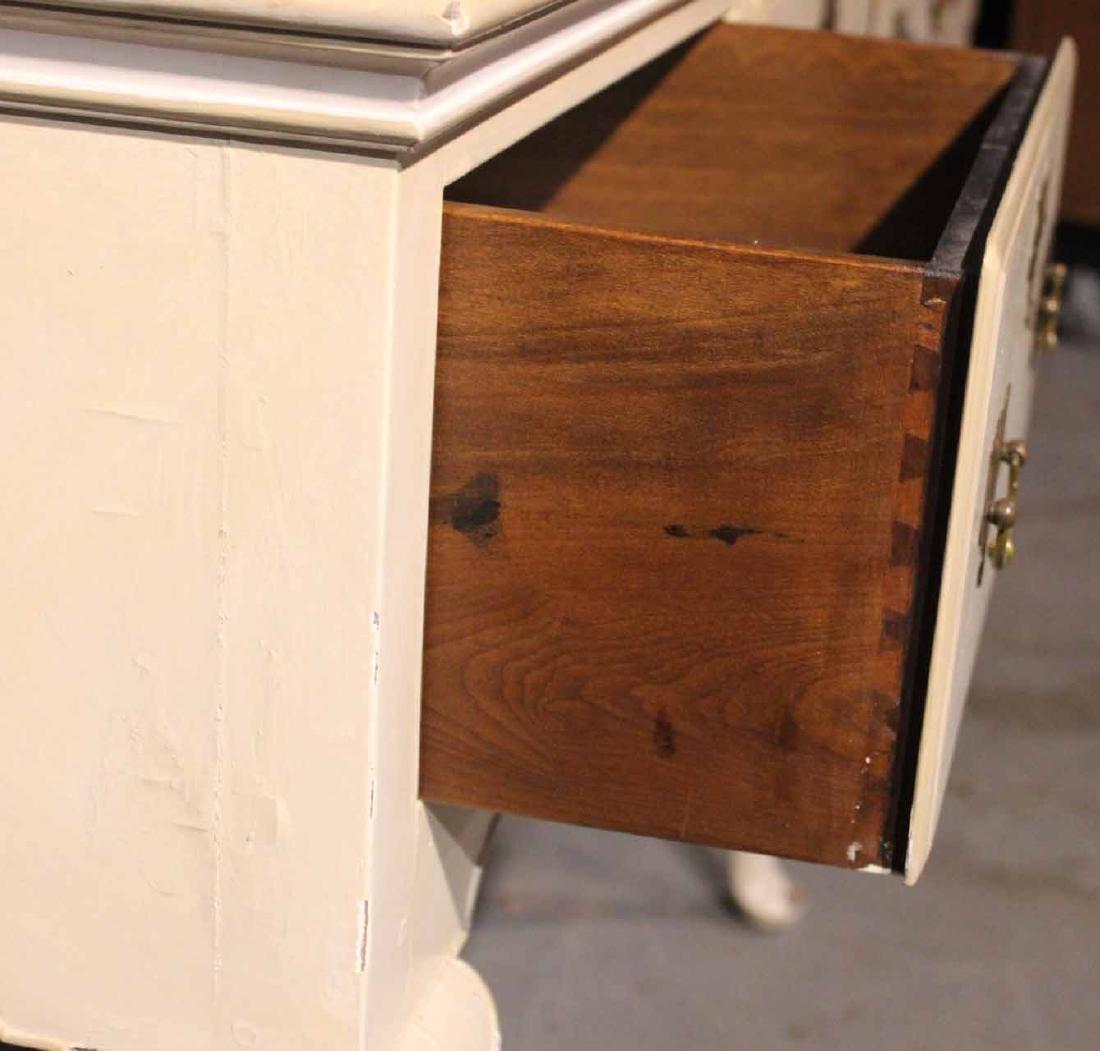 White-Painted Welsh Dresser Base - 4