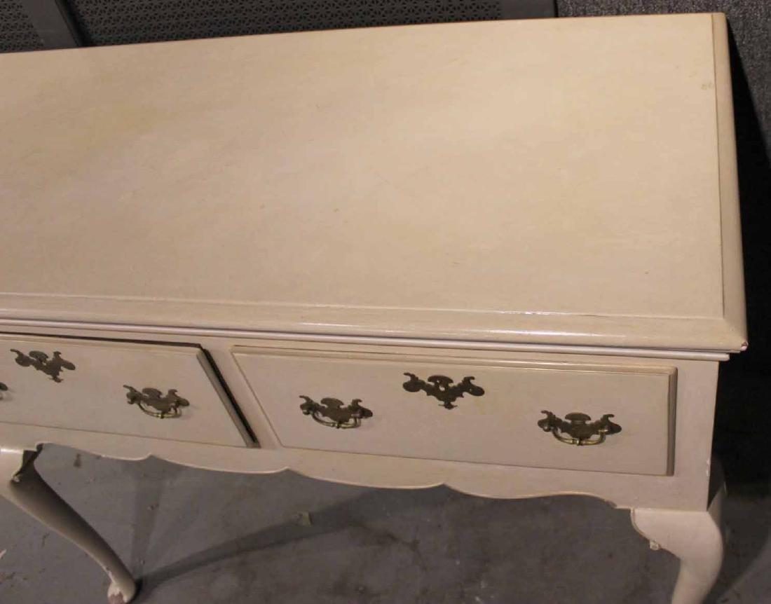 White-Painted Welsh Dresser Base - 5