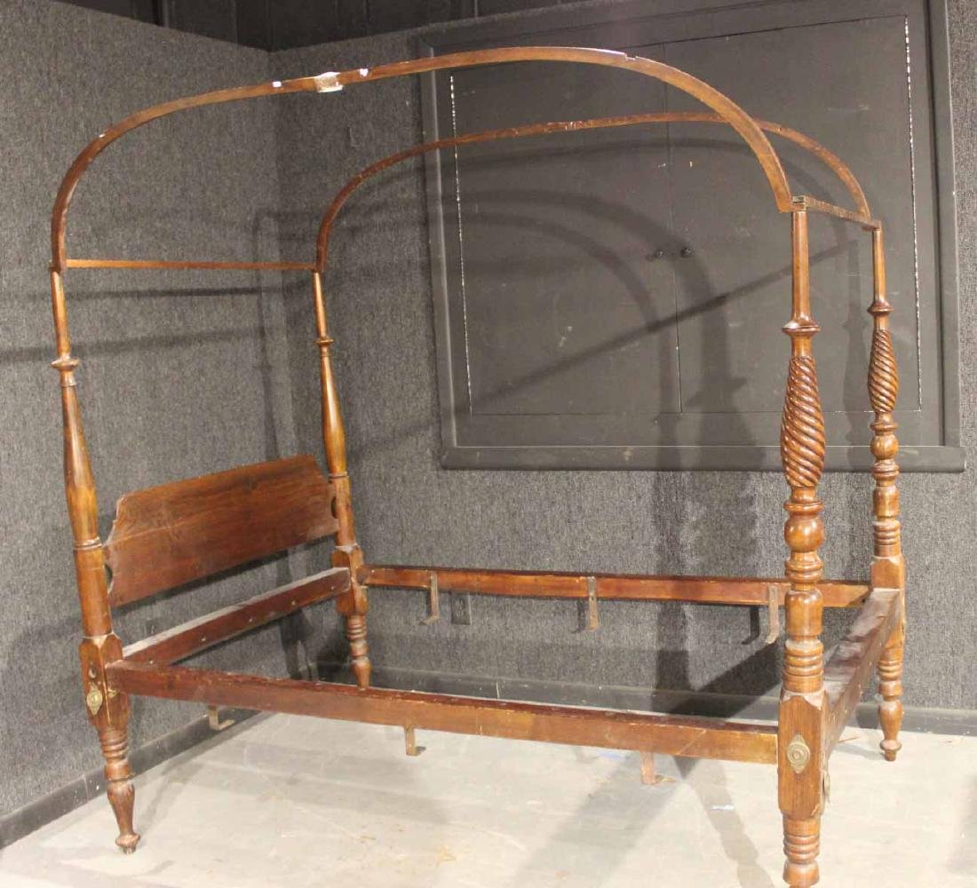 Federal Maple and Pine Tester Bedstead