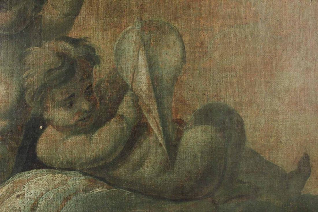 Oil on Canvas, Two Putti - 3