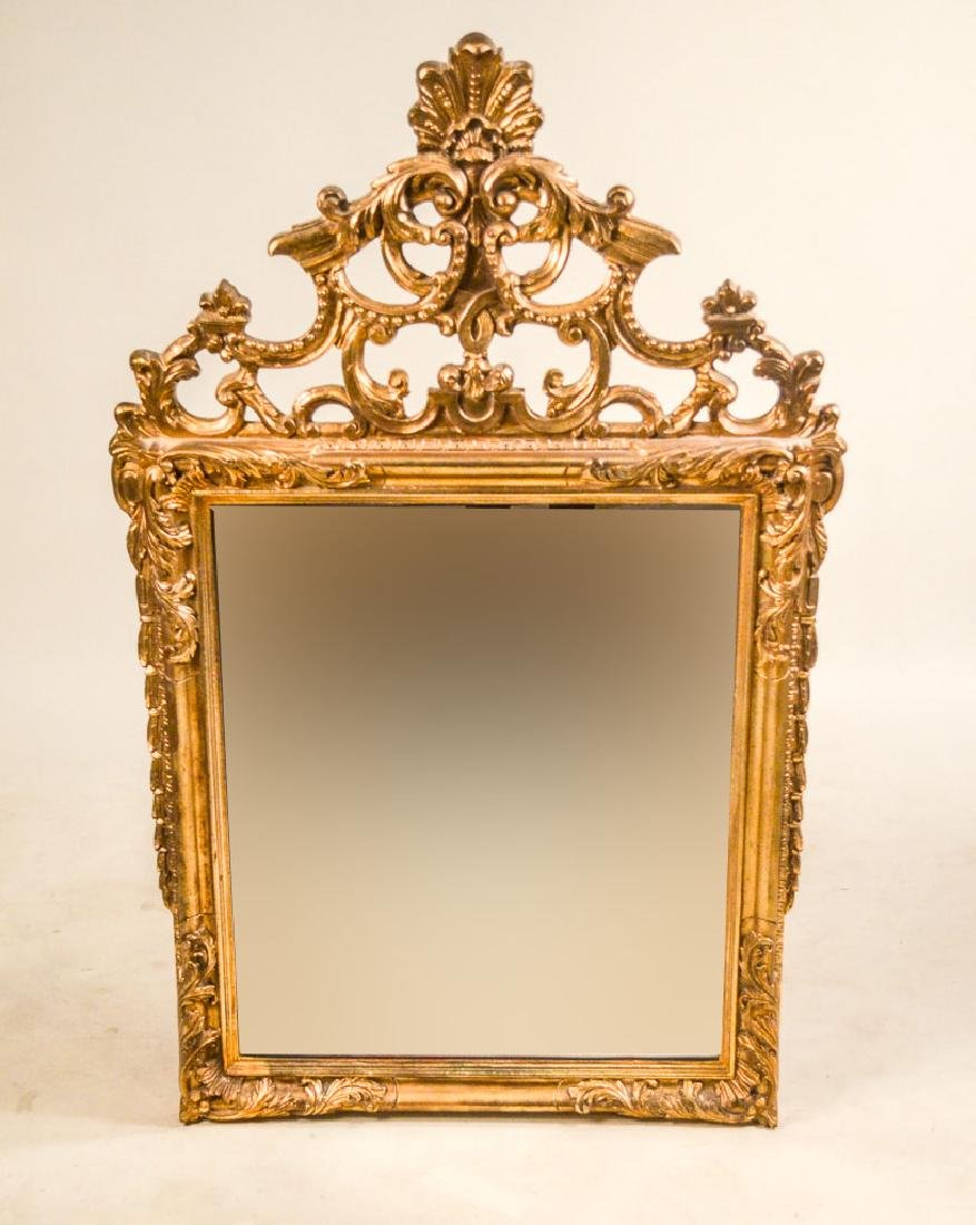 Louis XVI Style Gilt-Composition Mirror