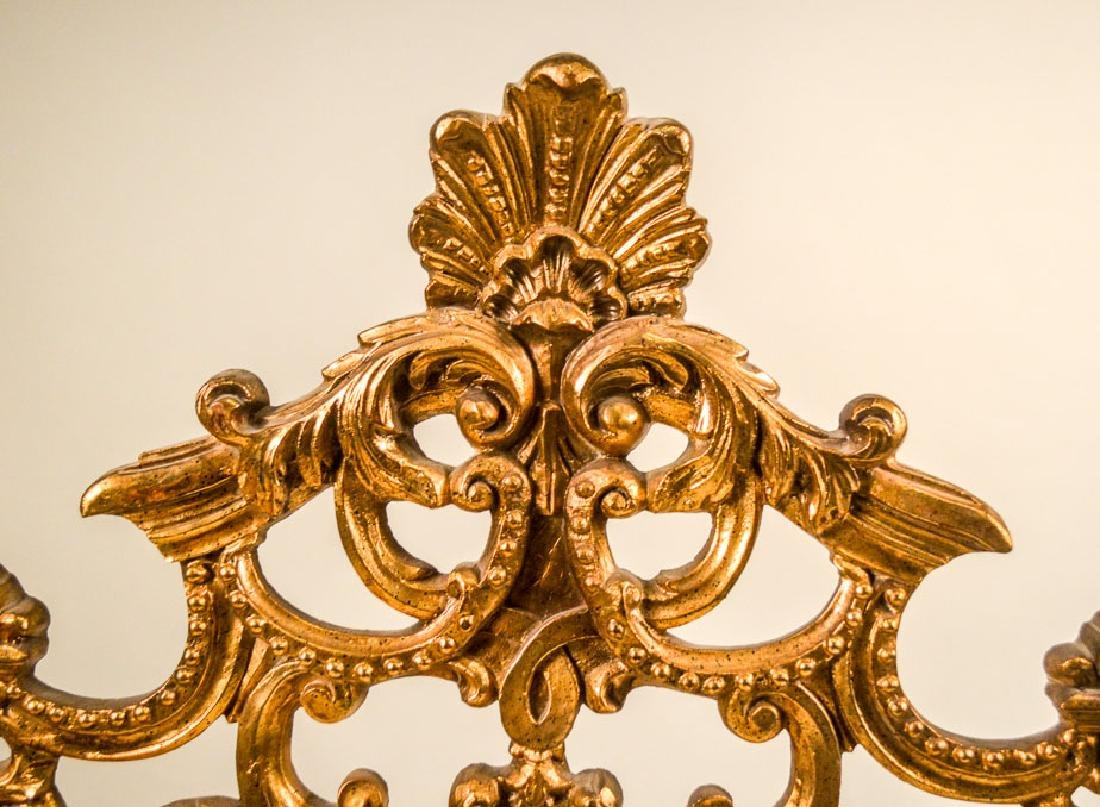Louis XVI Style Gilt-Composition Mirror - 2
