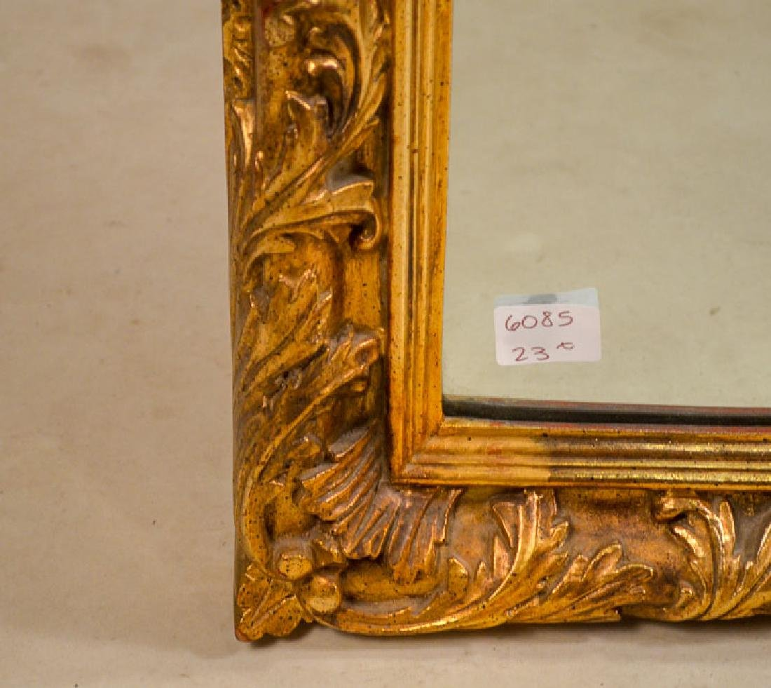 Louis XVI Style Gilt-Composition Mirror - 3