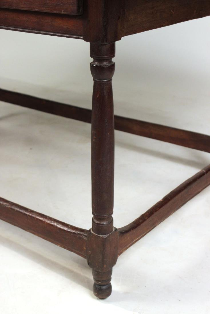 Turned Maple and Pine Tavern Table - 3