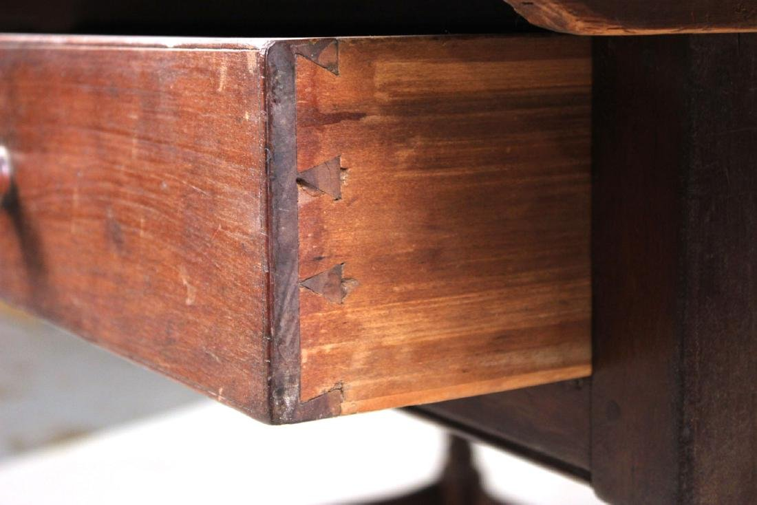 Turned Maple and Pine Tavern Table - 5