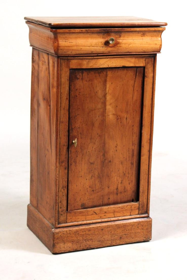French Provincial Cherrywood One-Drawer Cupboard